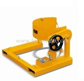 Forklift Drum Rotator