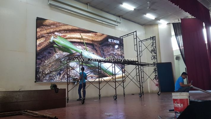 Primary School Hall - Stage LED Display Screen