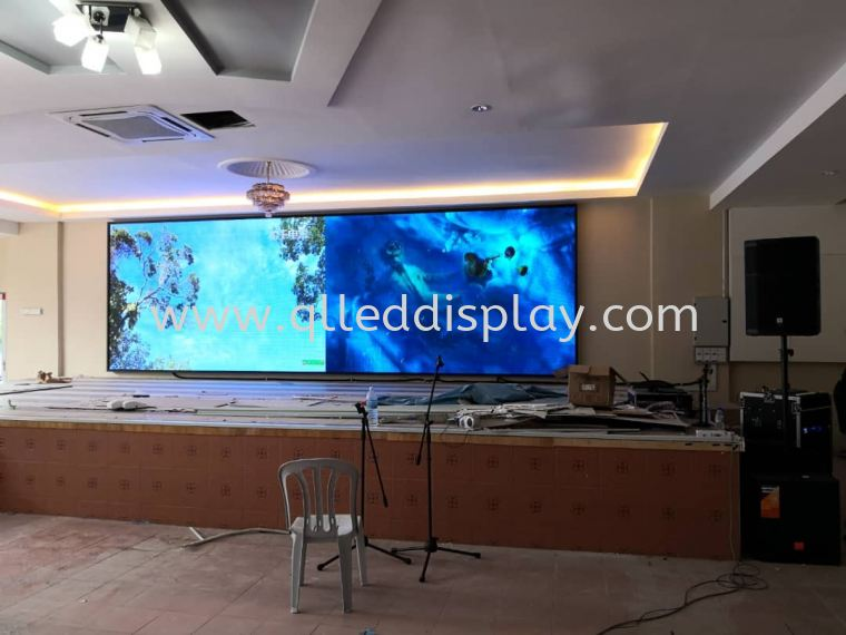 Stage LED Display Screen College Lecture Hall Stage Effect LED Display Screen