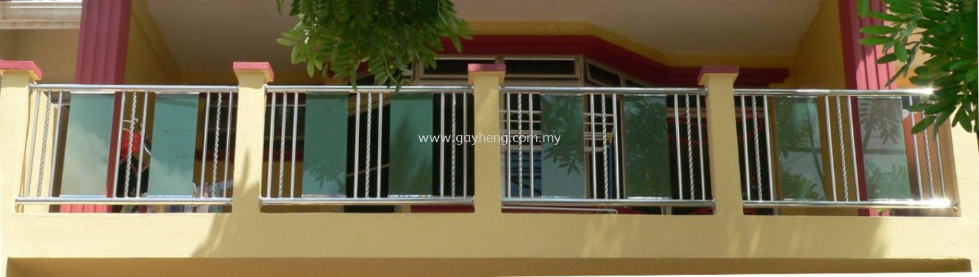 Stainless Steel Balcony Railing �׸���̨����