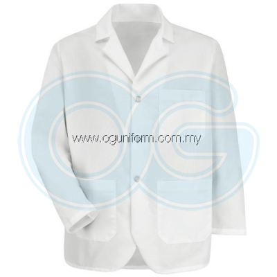 Notch Collar Lapel Counter Coat
