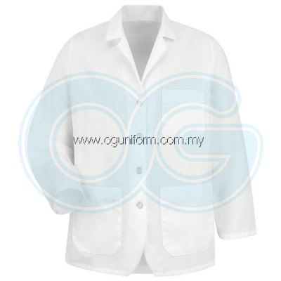 Lapel Counter Coat (White (00) BJ)