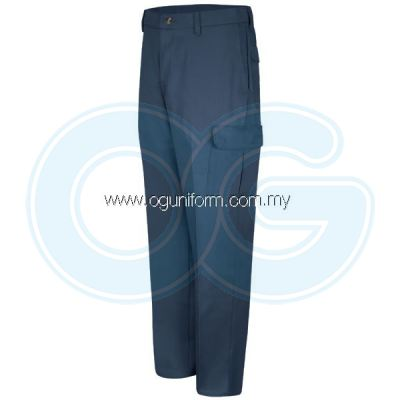 Cotton Cargo Pant (Navy Blue)