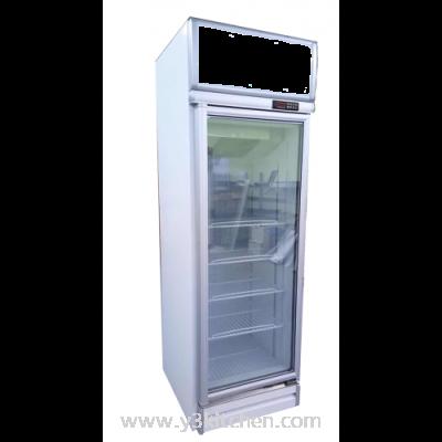 LINDEN - Commercial display 1 heater glass door chiller