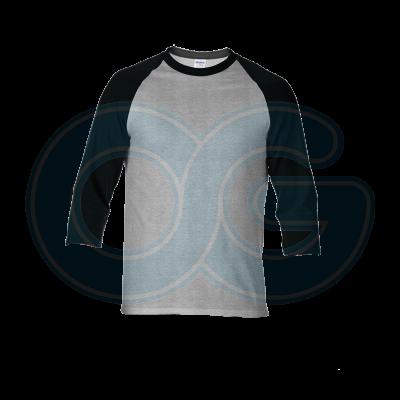 Unisex 3/4 Sleeve Tee-Shirt (G76700M/222)