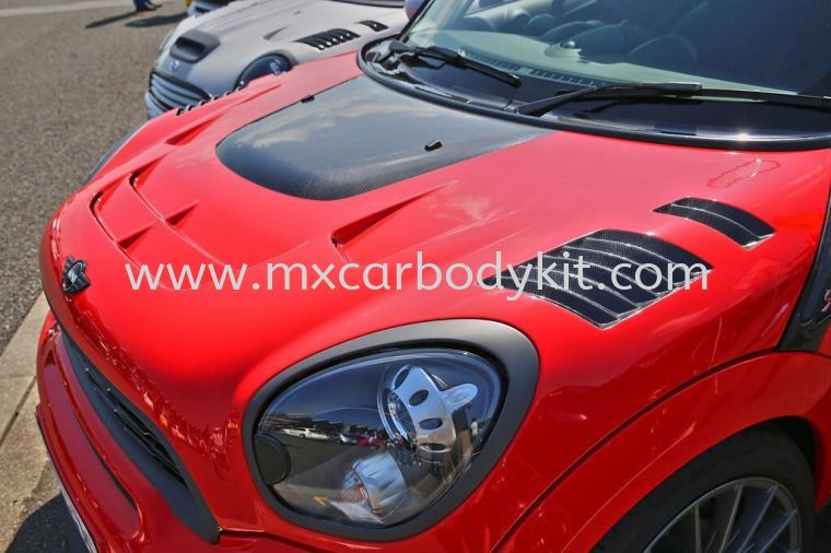 MINI COOPER R60 COUNTRYMAN DUELL AG FRONT BONNET HOOD MINI COOPER