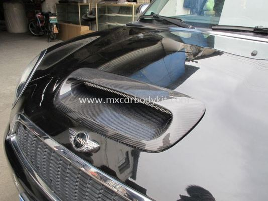 MINI COOPER F56 DUELL AG BONNET SCOOP