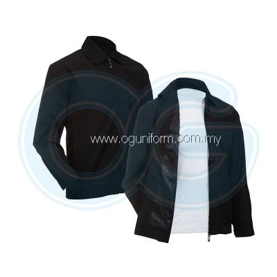 Unisex Executive Jacket (EJ02) Black Black (01)