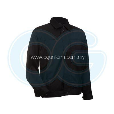 Unisex CEO Jacket (CJ01OS/782) Black Black (01)