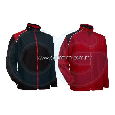 Unisex Reversible Jacket (WR03OS-562) Red Black (05)
