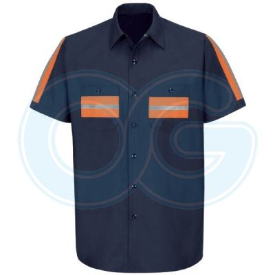 Enhanced Visibility Shirt (Navy Blue)