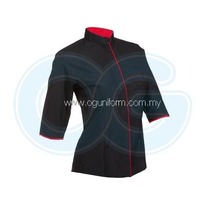 Female F1 Shirt (F119OS/355) Black(02)