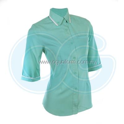 Female F1 Shirt (F131OS/355) Turquoise(17)
