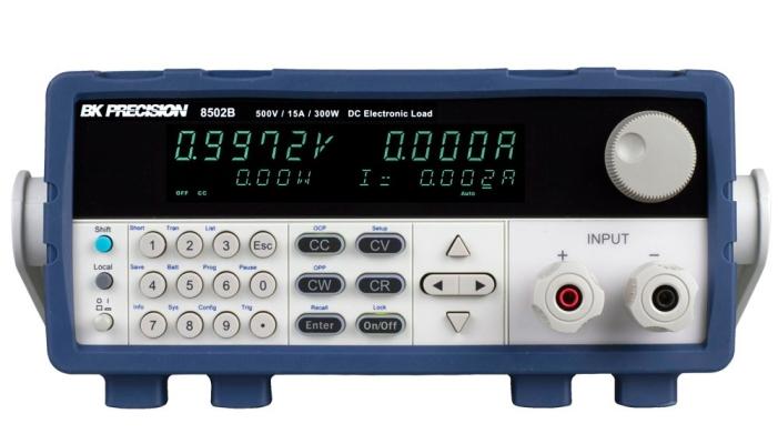 Programmable DC Electronic Loads Model 8502B