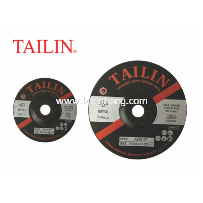 "TAILIN GRINDING DISC - 4"" / 7"""