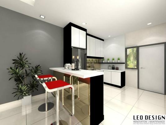 Kitchen Cabinet 3D Design Suitable
