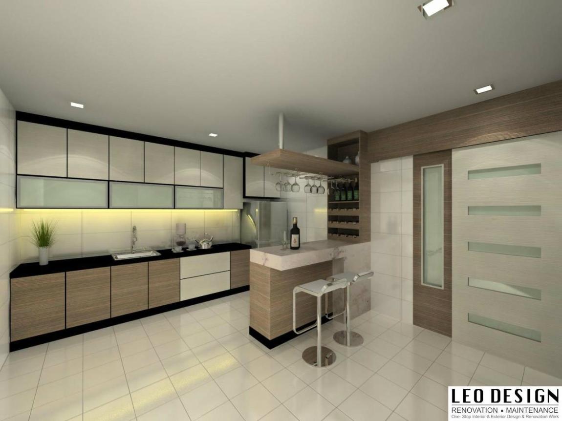 Reka Bentuk Kabinet Dapur 3D Yang Sesuai Di Malaysia Dapur Reka Bentuk 3D