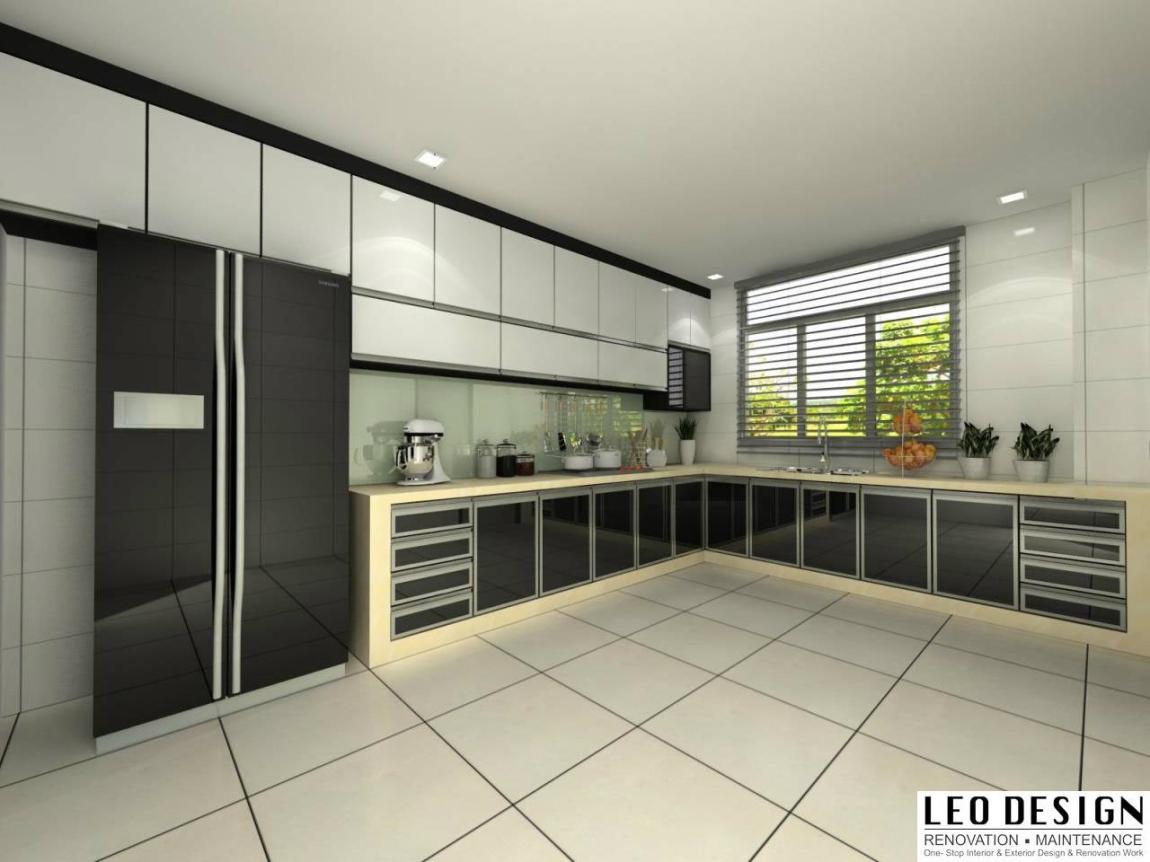 适合马来西亚的厨房设计3D参考图 厨房 3D设计图