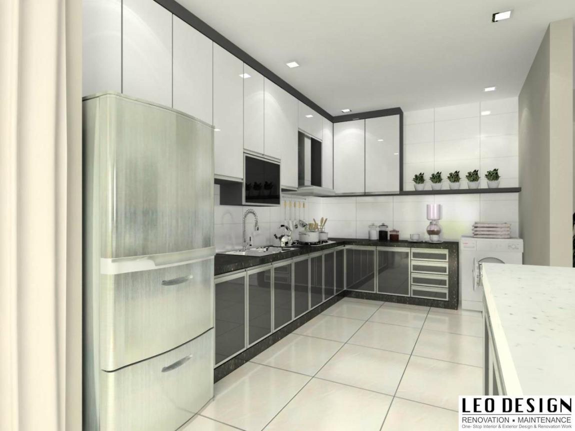 Kitchen Cabinet 3D Design Suitable Kitchen 3D Design Drawing