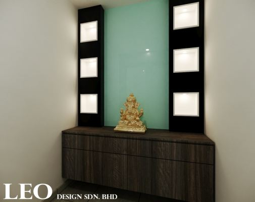 Chinese Altar Cabinet 3D Design