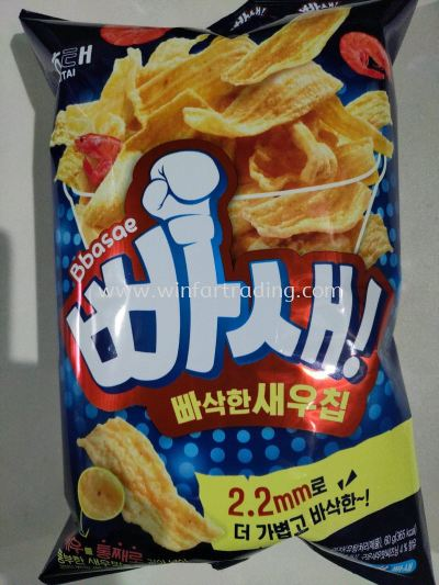 HAITAI CRISPY SHRIMP POTATO CHIPS  45G BC8801019608056
