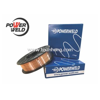 POWERWELD 5KG MILD STEEL MIG WIRE