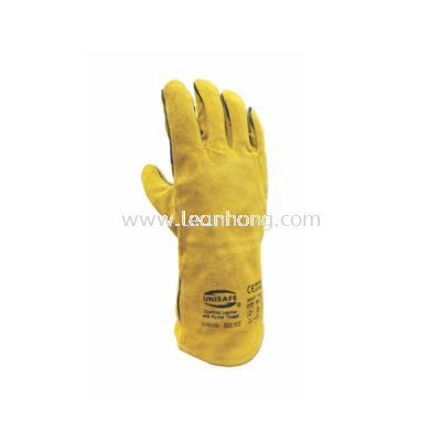 UNISAFE LEATHER WELDER GLOVE - 13""