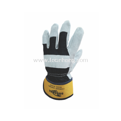 DURAMAX LEATHER WORK GLOVE - 10""