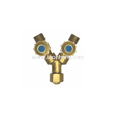 TWIN OUTLET VALVE - OXYGEN (O2)