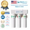 [ NEW PRODUCT ] AQUASANA AQ-5300+ Water Filter Water Purifier Filter, Made In USA (4 NSF Approved, 2  Drinking System