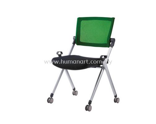 AEXIS 1 FOLDING MESH CHAIR C/W CASTOR & W/O ARMREST ACL 229