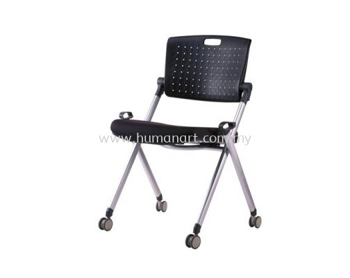 AEXIS 1 FOLDING CHAIR C/W CASTOR & W/O ARMREST ACL 339
