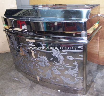 Stainless Steel Aquarium Cabinet & Top Cover �׸���׳�&����