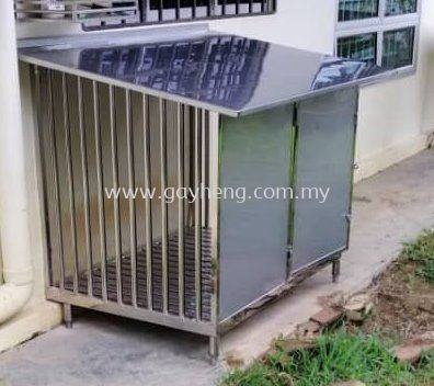 Stainless Steel Pet Cage (Dog Cage) �׸ֳ����� (����)