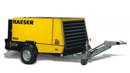 Rental Air Compressor - 390 cfm