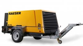 Rental Air Compressor - 655 cfm