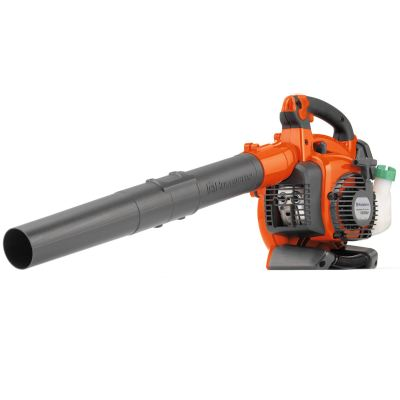 Huqvarna 125BVX: Hand Held Petrol Leaf Blower With Vacuum Kit, 28cc, 0.8kW, Air Speed 76m/s, 4.5kg