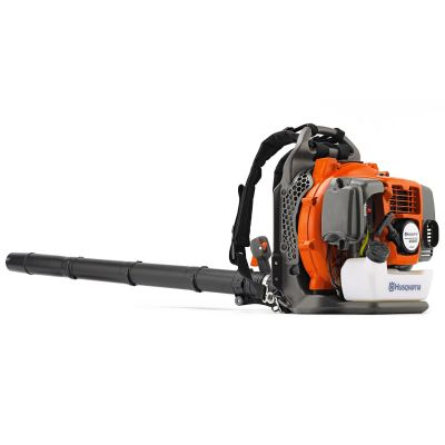 Husqvarna 350BT: Backpack Petrol Leaf Blower, 50.2cc, 1.6kW, Air Speed 80.47m/s, 11kg