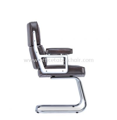 MODY DIRECTOR VISITOR BACK CHAIR C/W CHROME CANTILEVER BASE