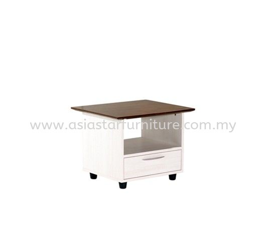 TEZAR SQUARE COFFEE TABLE (RUBBER WOOD TOP) - Top 10 Must Have Director Office Table | Director Office Table Sunway | Director Office Table Subang | Director Office Table Shah Alam
