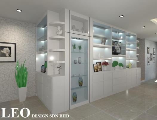 Display Cabinet 3D Design