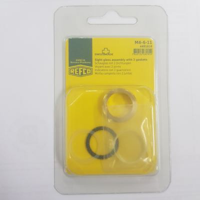 M4-6-11 Sight Glass Assembly with 2 Gaskets