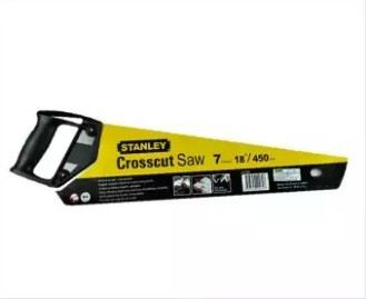 "Stanley Plastic Handle Wood Saw 18"" STHT20080"