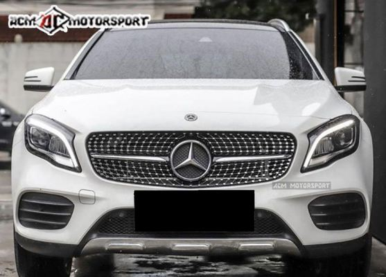 Mercedes Benz GLA -Class X156 diamond look front grille