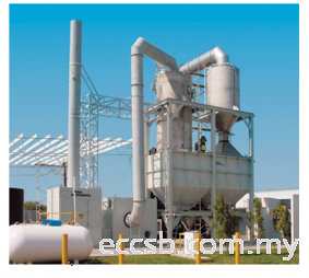Air Pollution Control System (Scrubber & Bag Filtration)