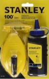 Stanley Chalk Line Reel 47-443-30M/113gm (Blue) Chalk Line Measuring Tools Stanley
