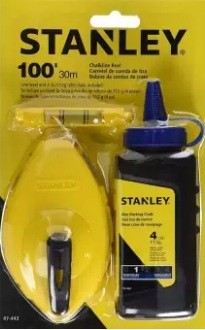Stanley Chalk Line Reel 47-443-30M/113gm (Blue)