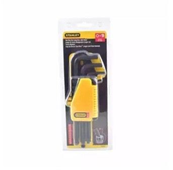 Stanley Original 69-256 9PCS Hex Key Long Arm Ball Point Set (Metric MM)