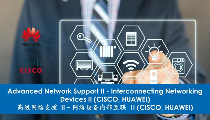 Advanced Network Support II - Interconnecting Networking Devices II (Cisco, Huawei)