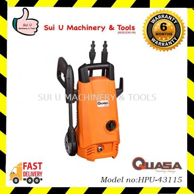Quasa HPU-43115 High Pressure Cleaner 110bar 1400w